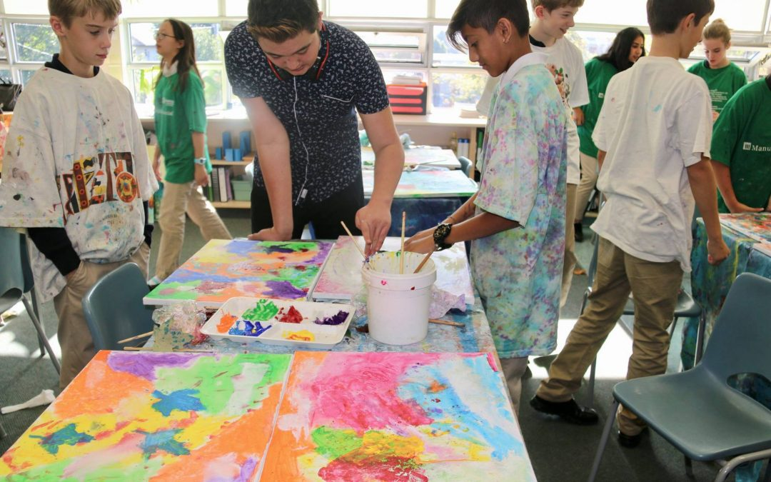 Art from the Heart with Youth Artist, Aiden Lee